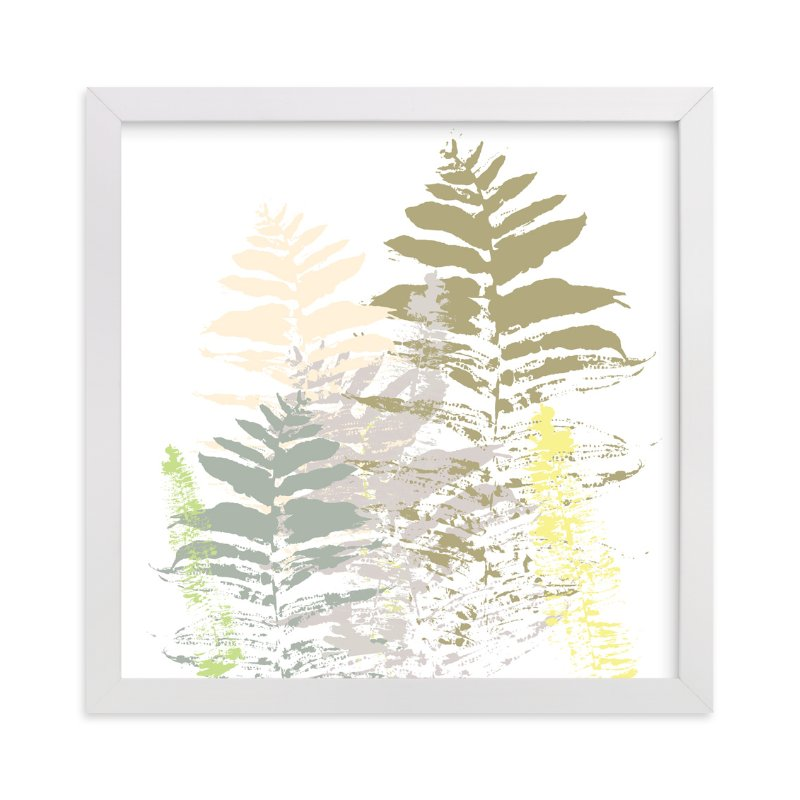 """""""Fern Palooza"""" - Art Print by Aimee Siberon in beautiful frame options and a variety of sizes."""