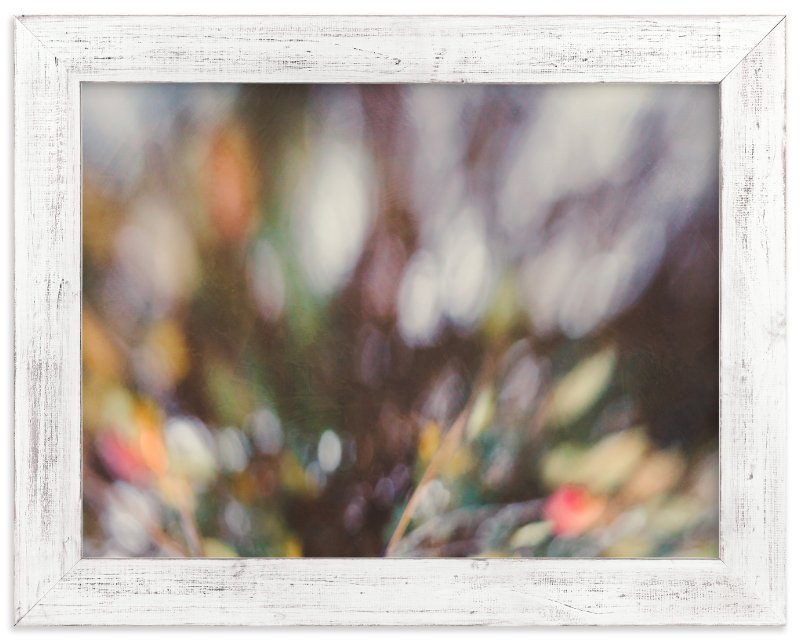 """""""Winter Bokeh"""" - Art Print by Stacy Kron in beautiful frame options and a variety of sizes."""