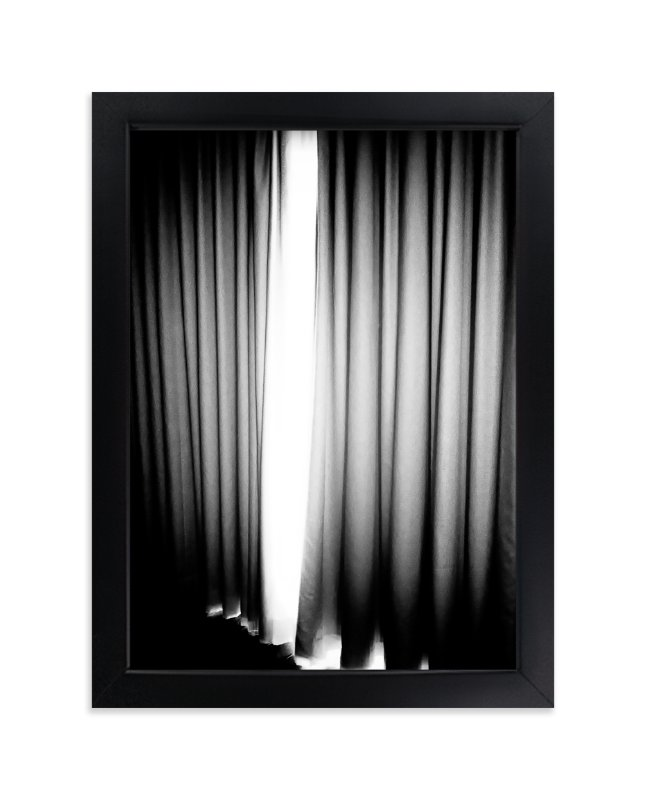 """It's Curtains"" - Art Print by Michelee Scott in beautiful frame options and a variety of sizes."