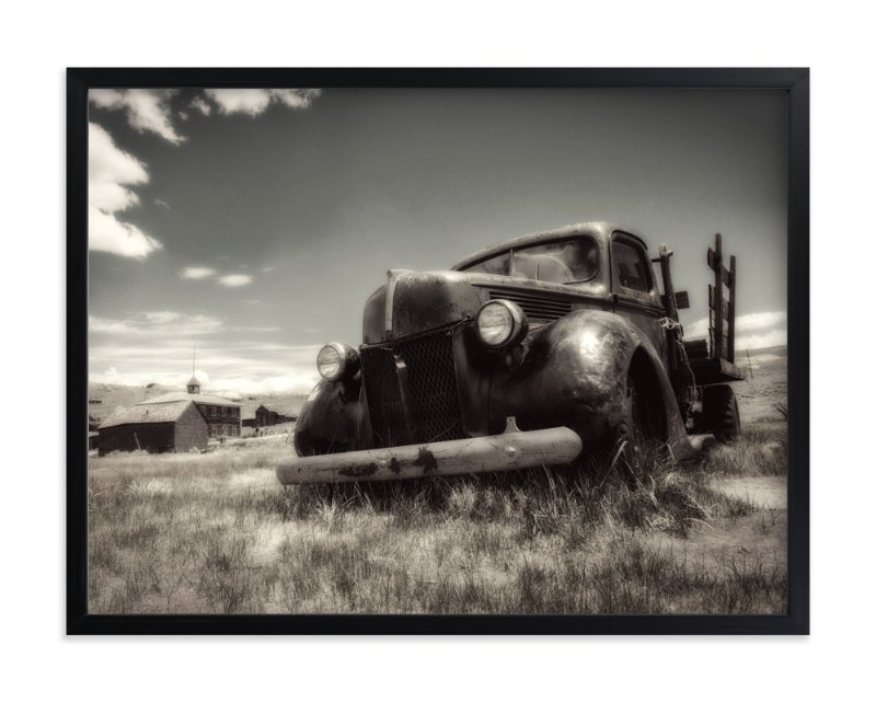 """""""Bodie, Califorina :: I"""" - Art Print by Kellie Medivitz in beautiful frame options and a variety of sizes."""