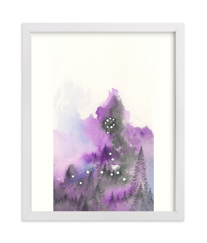 """""""Pisces Constellation"""" - Art Print by Emily Magone in beautiful frame options and a variety of sizes."""