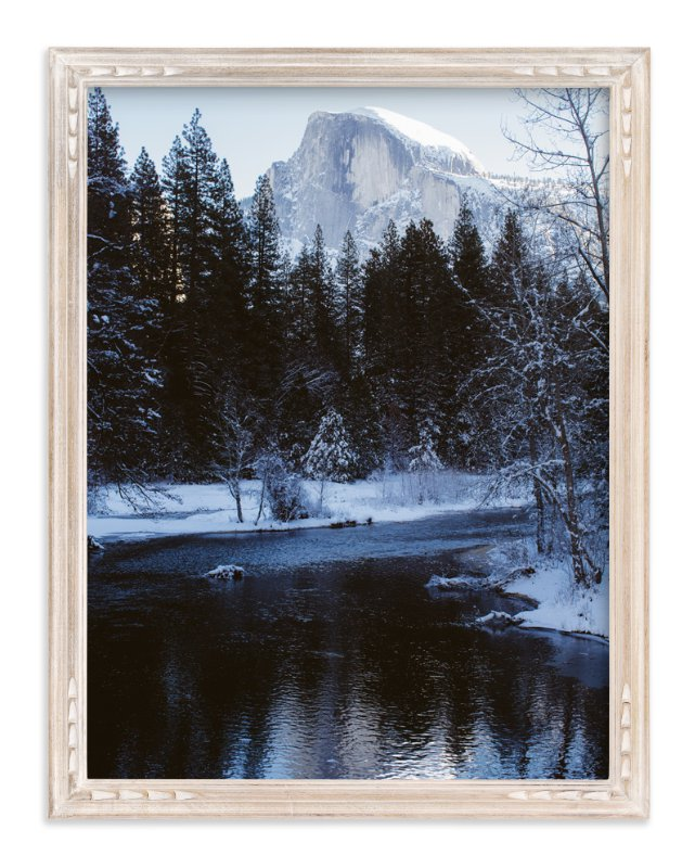 """Winter Frost"" - Art Print by Christian Florin in beautiful frame options and a variety of sizes."