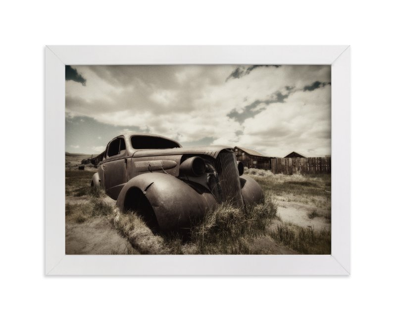 """Cars of Bodie, CA :: II"" - Art Print by Kellie Medivitz in beautiful frame options and a variety of sizes."