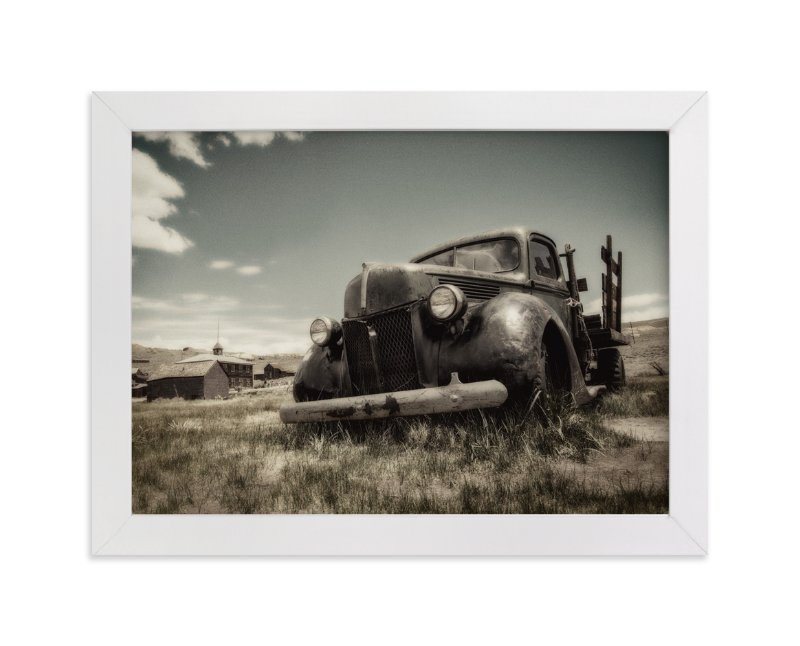 """Cars of Bodie, CA :: III"" - Art Print by Kellie Medivitz in beautiful frame options and a variety of sizes."