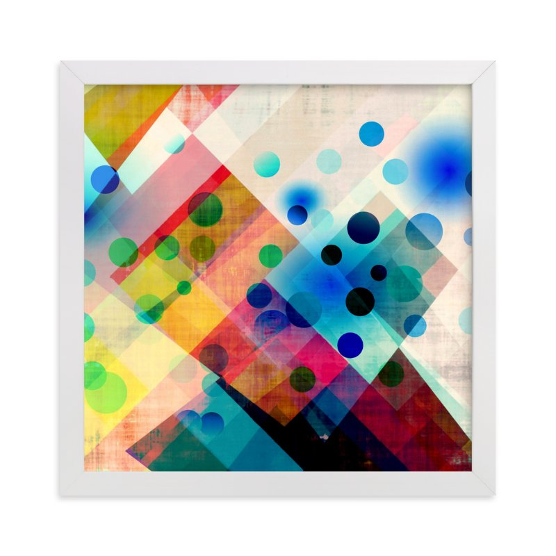 """Spots"" - Art Print by Amy Lighthall in beautiful frame options and a variety of sizes."