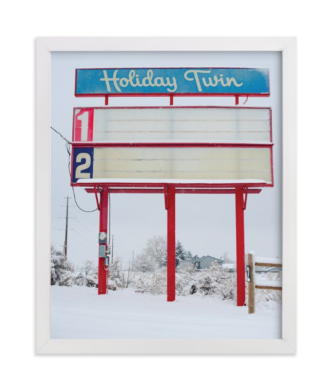 """Holiday Twin"" - Art Print by Jennifer Little in beautiful frame options and a variety of sizes."