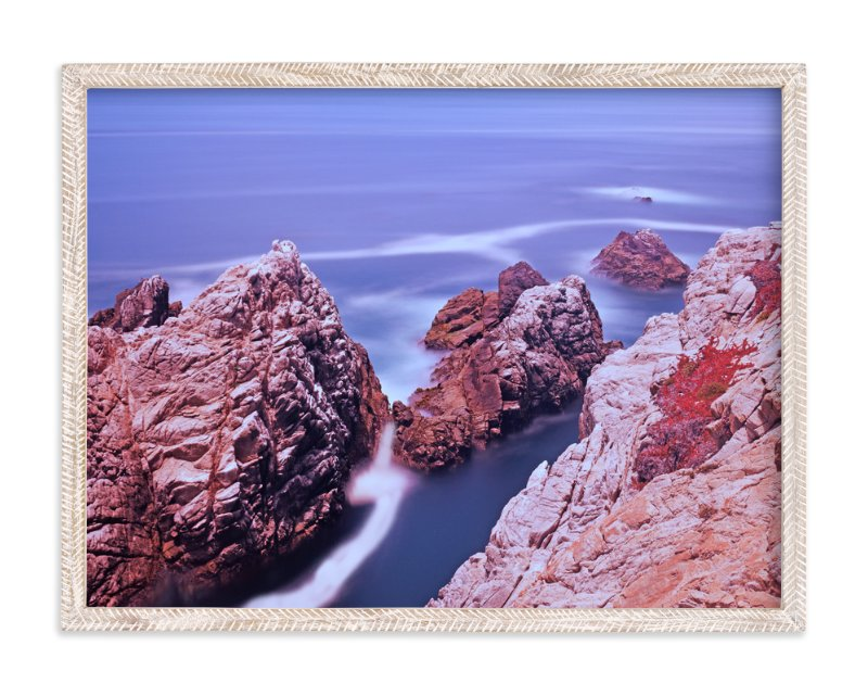 """Ocean meets the land"" - Art Print by NSMARK in beautiful frame options and a variety of sizes."