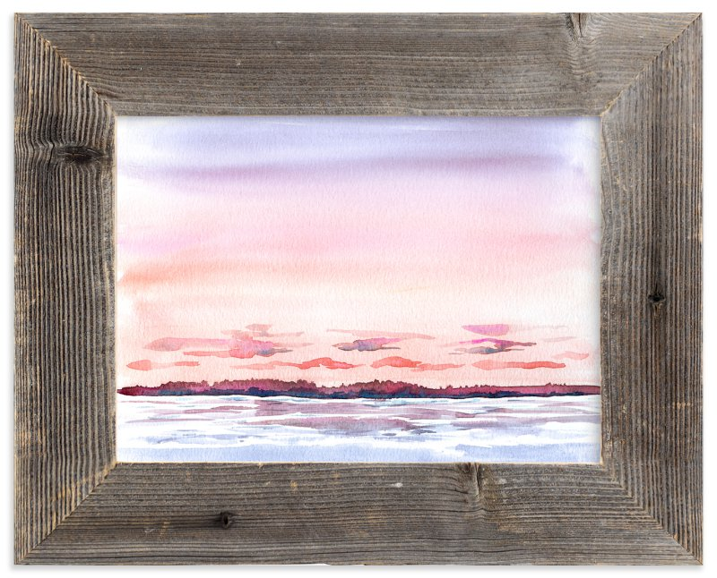 """""""High Tide"""" - Art Print by Field and Sky in beautiful frame options and a variety of sizes."""