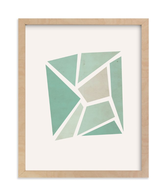 """""""Shattered Series Square"""" - Art Print by Jennifer Morehead in beautiful frame options and a variety of sizes."""