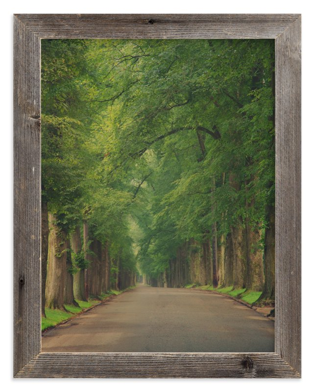"""The Street I Live On"" - Art Print by Erin Niehenke in beautiful frame options and a variety of sizes."