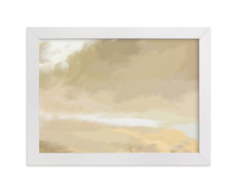 """Golden Sky"" - Art Print by Amy Hall in beautiful frame options and a variety of sizes."