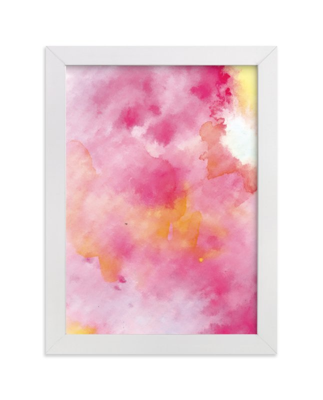 """""""CottonCandy"""" - Art Print by Roopali in beautiful frame options and a variety of sizes."""