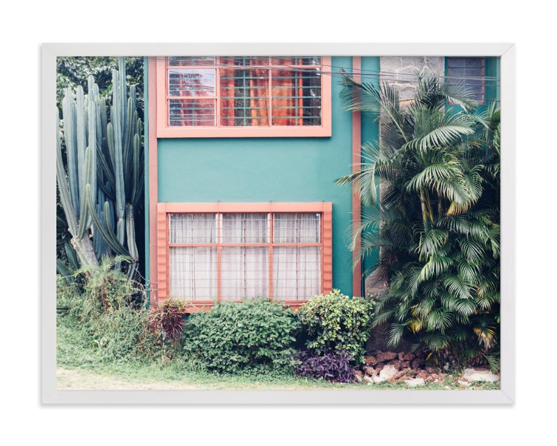 """La Casita"" - Art Print by Kaitlin Rebesco in beautiful frame options and a variety of sizes."