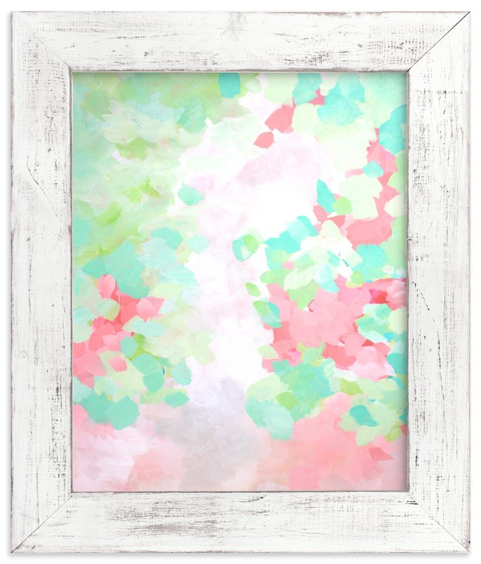 """""""Ranunculus """" - Art Print by Art by Megan in beautiful frame options and a variety of sizes."""