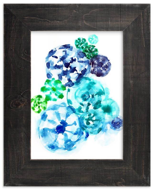 Ocean Tie Dye 2 Wall Art Prints By Jenny Partrite Minted