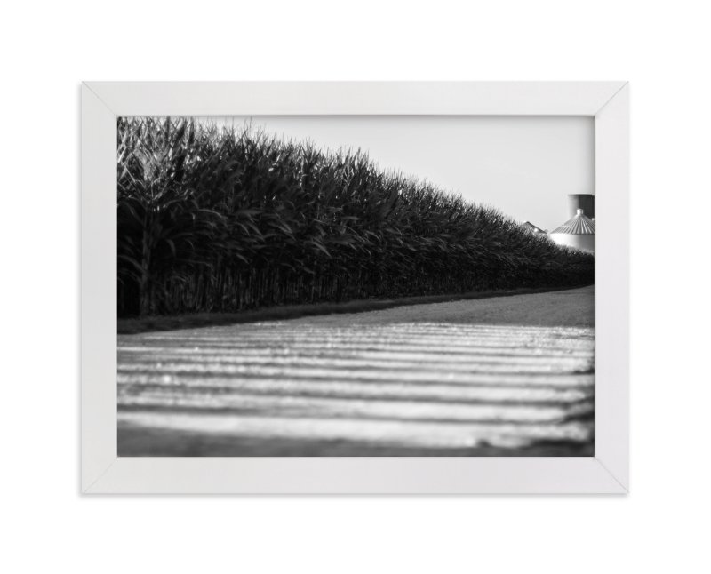 """""""Modern Rural"""" - Art Print by That Girl Studio in beautiful frame options and a variety of sizes."""