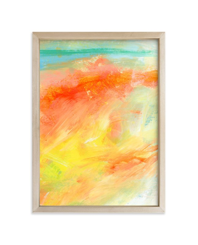 """""""Break Away"""" - Art Print by Lindsay Megahed in beautiful frame options and a variety of sizes."""