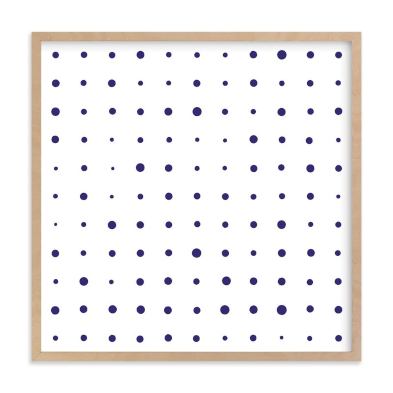 """""""Messy Dots"""" - Art Print by Erin Niehenke in beautiful frame options and a variety of sizes."""