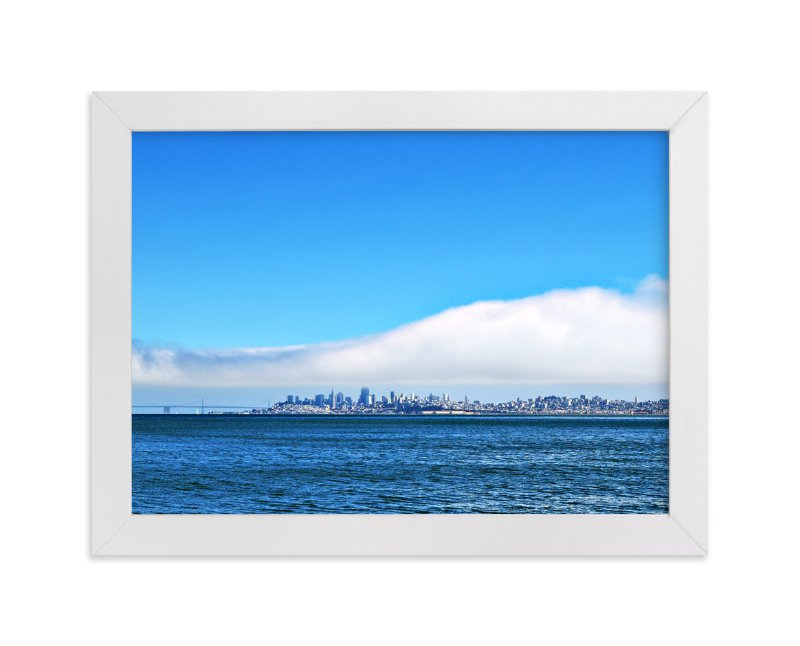 """""""View of San Francisco"""" - Art Print by NSMARK in beautiful frame options and a variety of sizes."""