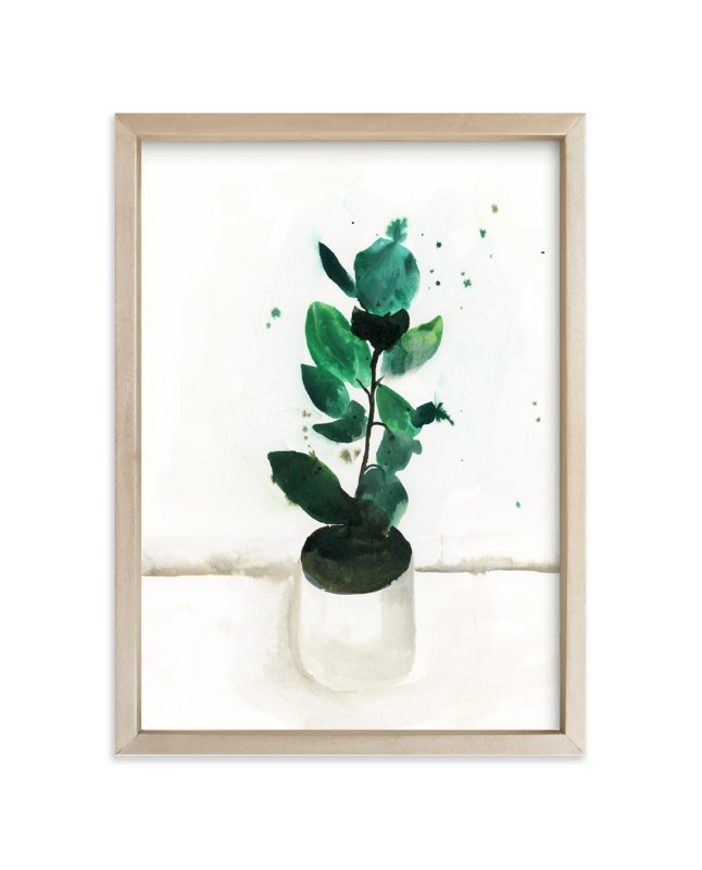 """Fig"" - Art Print by Lindsay Megahed in beautiful frame options and a variety of sizes."