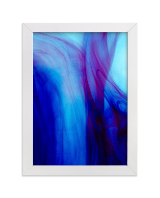 """""""Purple Dreams"""" - Art Print by Alexis Arnold in beautiful frame options and a variety of sizes."""