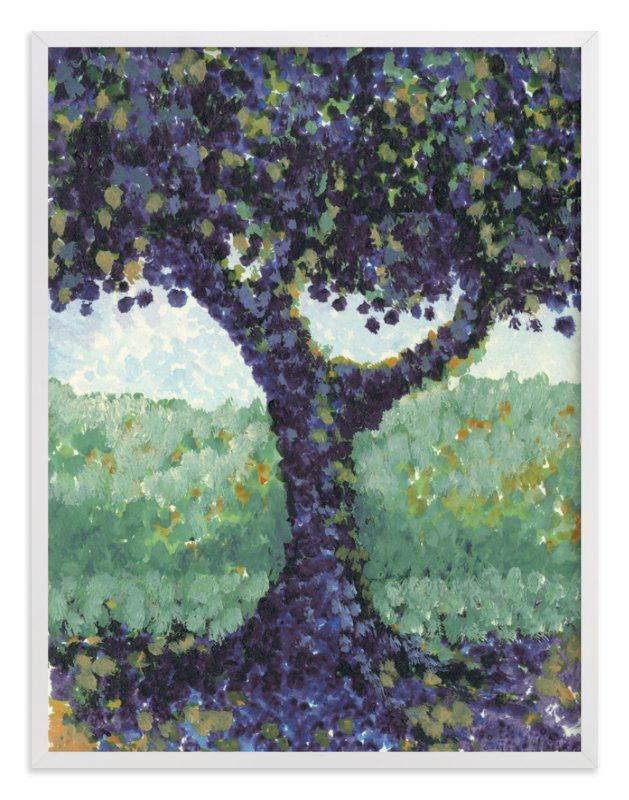 """""""Solitary Tree"""" - Art Print by Me Amelia in beautiful frame options and a variety of sizes."""