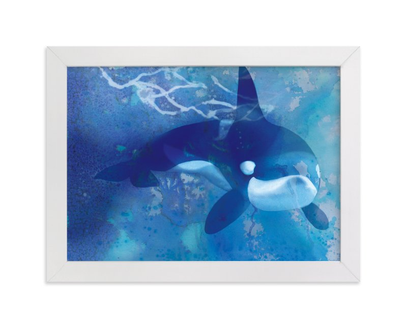 """""""Orca"""" - Art Print by Tracy Ann in beautiful frame options and a variety of sizes."""