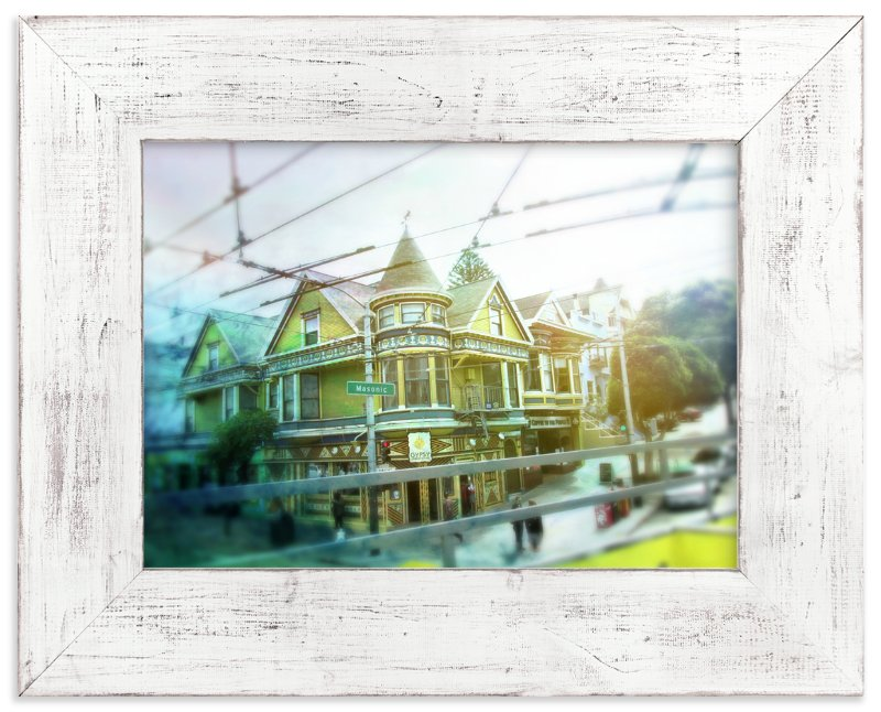 """Cisco from the Tour Bus"" - Art Print by Skoodler Designs in beautiful frame options and a variety of sizes."