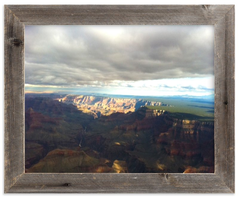 """Grand Canyon Illuminated"" - Art Print by Jeff Vilkin in beautiful frame options and a variety of sizes."