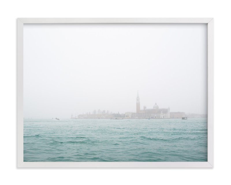 """""""Venice Fog"""" - Art Print by Krissy Bengtson in beautiful frame options and a variety of sizes."""
