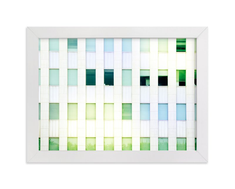 """Mid Wilshire Windows "" - Art Print by GLEAUX Art Photo Design in beautiful frame options and a variety of sizes."