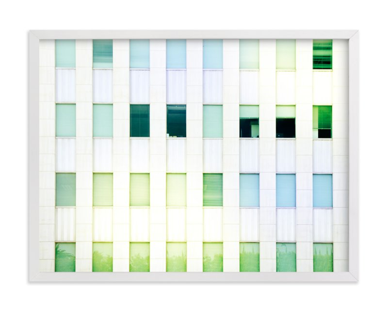 """""""Mid Wilshire Windows """" - Art Print by GLEAUX Art Photo Design in beautiful frame options and a variety of sizes."""