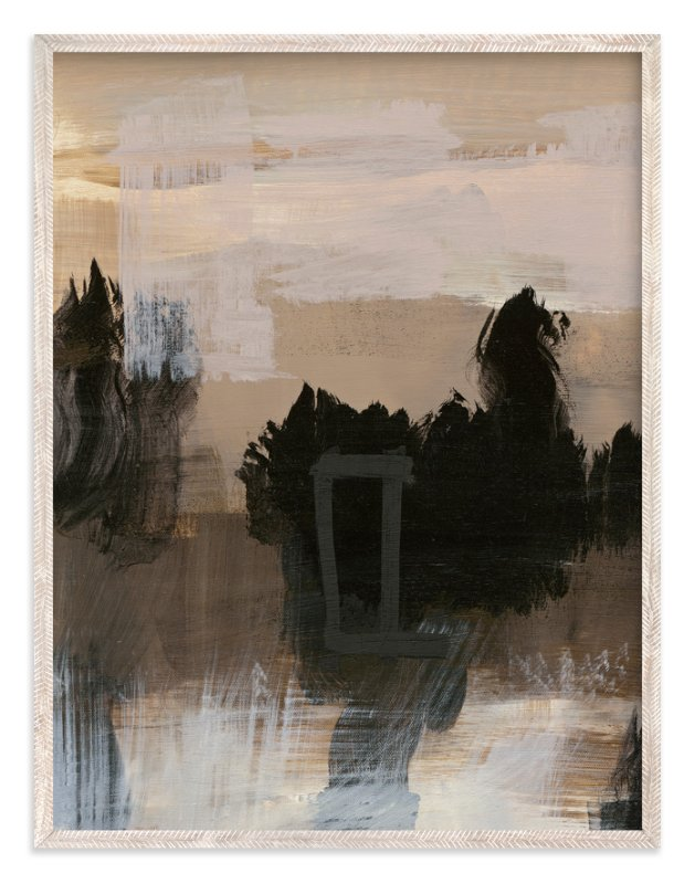 """""""Deserted Place Series 4"""" - Art Print by Angela Simeone in beautiful frame options and a variety of sizes."""