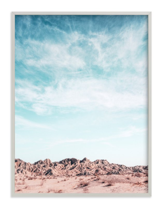 """Painted Canyon Sky 3"" - Art Print by Kamala Nahas in beautiful frame options and a variety of sizes."