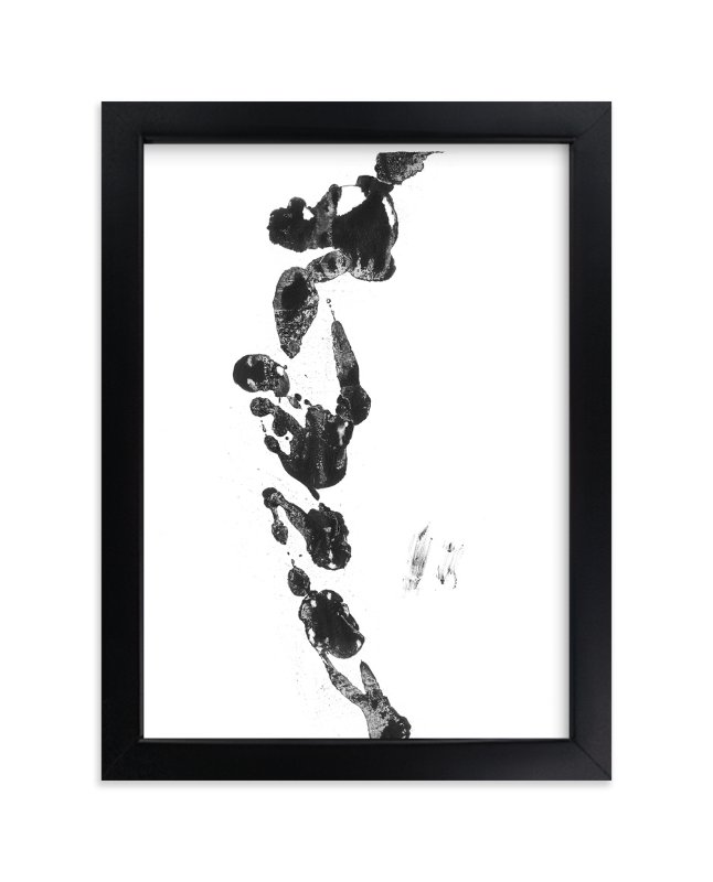 """Black Blaze"" - Art Print by Misty Hughes in beautiful frame options and a variety of sizes."