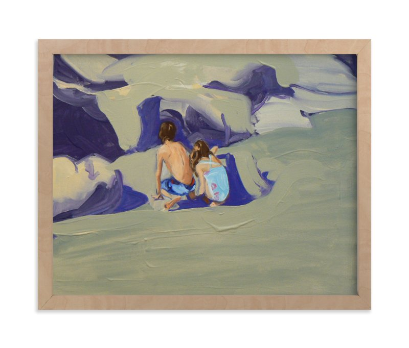"""Zachary and Violet Oxnard II"" - Art Print by Annie Seaton in beautiful frame options and a variety of sizes."