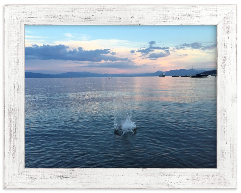 """""""Splash 1"""" - Art Print by Jeff Vilkin in beautiful frame options and a variety of sizes."""