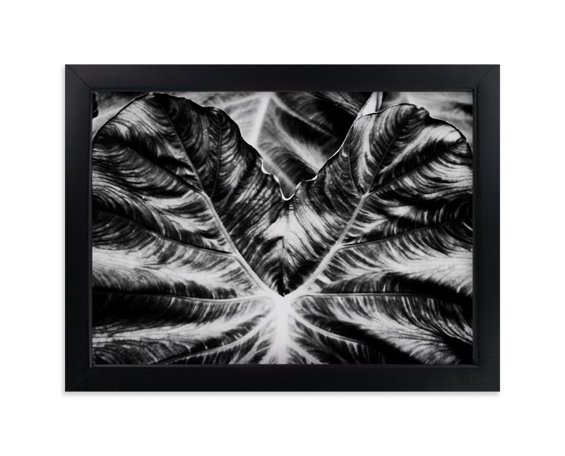"""Bold Leaf"" - Art Print by Alexis Arnold in beautiful frame options and a variety of sizes."
