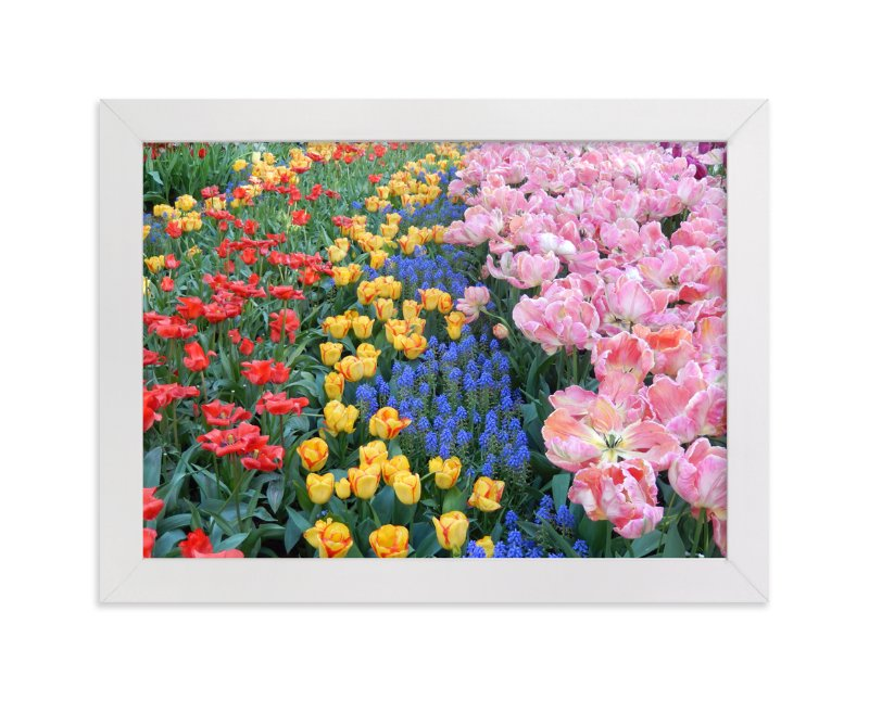 """Pretty Garden 2"" - Art Print by Jan Kessel in beautiful frame options and a variety of sizes."