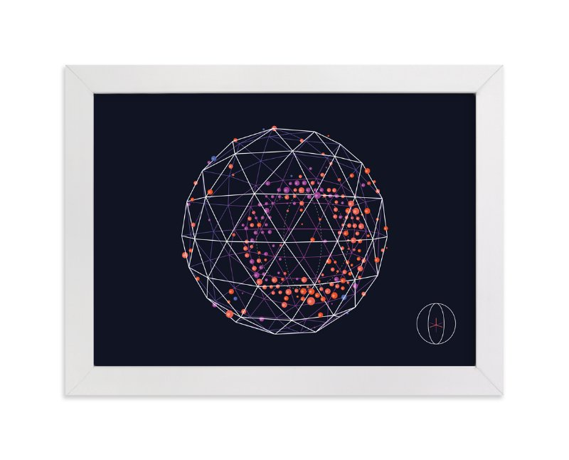 """QED 05 Horizontal"" - Art Print by Tyler Tea in beautiful frame options and a variety of sizes."