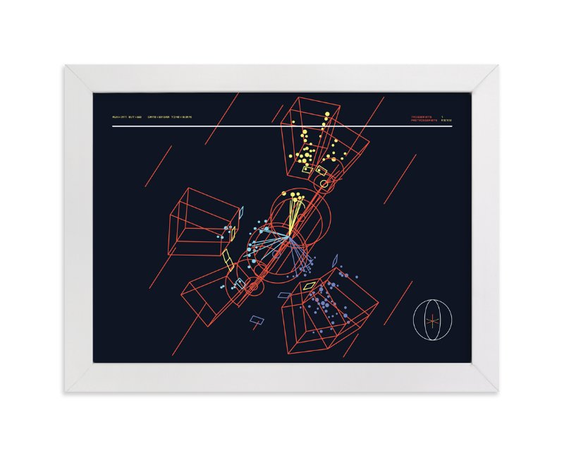 """""""Particle Accelerator Horizontal"""" - Art Print by Tyler Tea in beautiful frame options and a variety of sizes."""