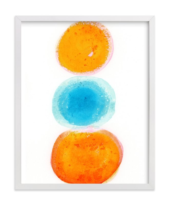 """""""Snowcone in Aruba"""" - Art Print by Alex Isaacs Designs in beautiful frame options and a variety of sizes."""