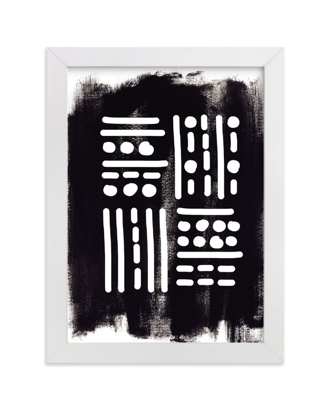 """""""FOUR"""" - Art Print by Michel Villalpando in beautiful frame options and a variety of sizes."""