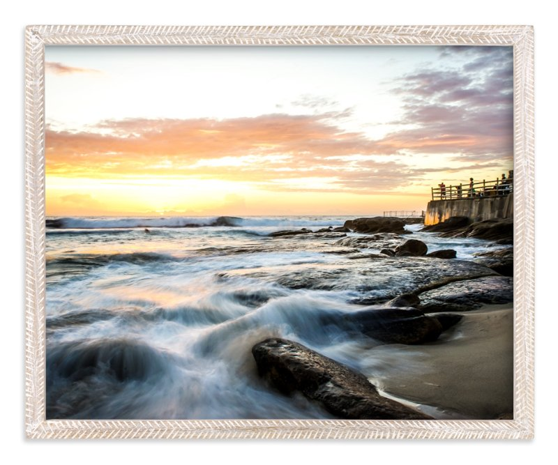"""""""Sunrise at Bronte"""" - Art Print by Hendro Lim in beautiful frame options and a variety of sizes."""