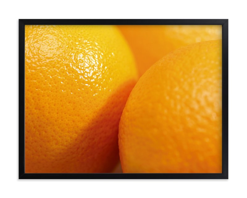 """""""Orange Is The New Black"""" - Art Print by Laura Hamm in beautiful frame options and a variety of sizes."""