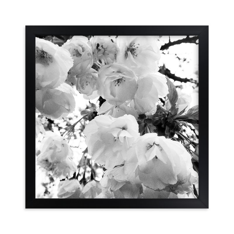 """Spring Noir 5"" - Art Print by Sarah Johnson in beautiful frame options and a variety of sizes."