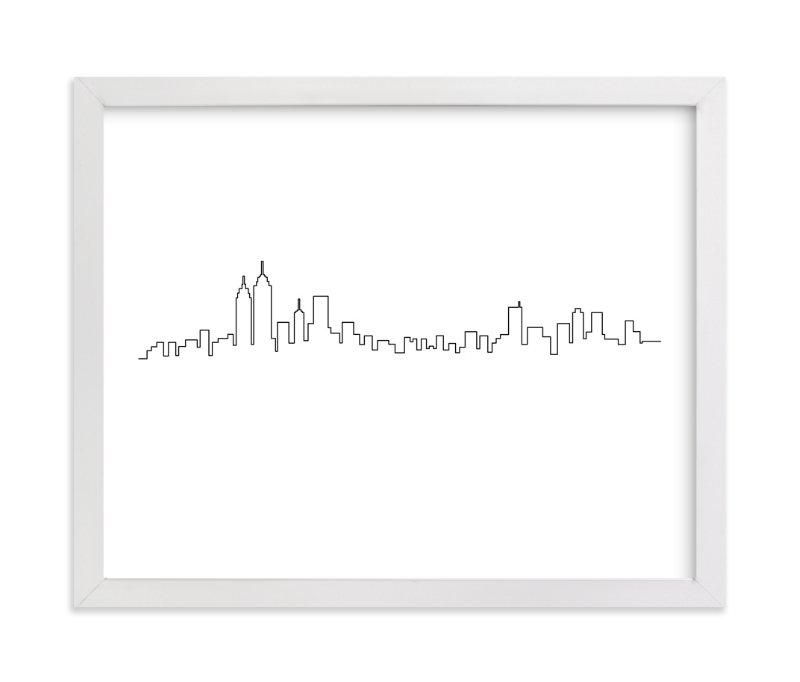 """""""New York"""" - Art Print by Erin Deegan in beautiful frame options and a variety of sizes."""