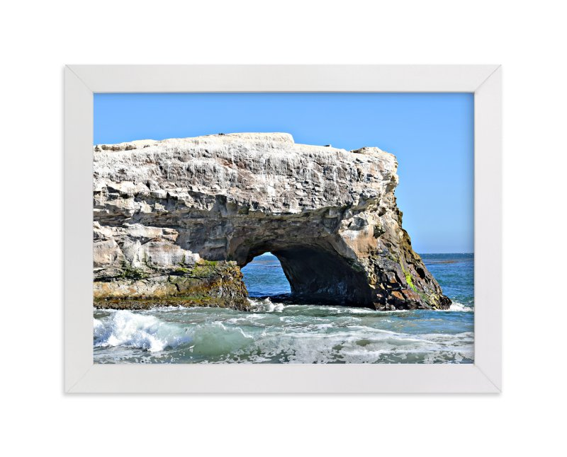 """Natural Bridge"" - Art Print by NSMARK in beautiful frame options and a variety of sizes."
