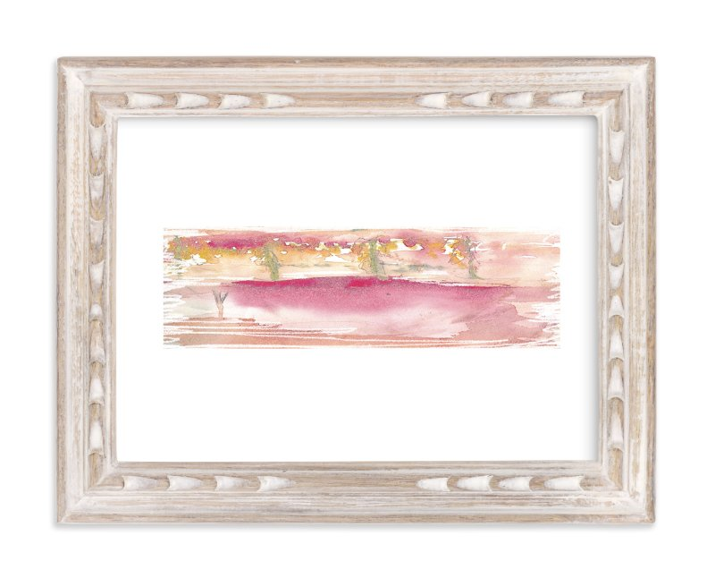 """""""I am home """" - Art Print by Neeta Sawhney in beautiful frame options and a variety of sizes."""