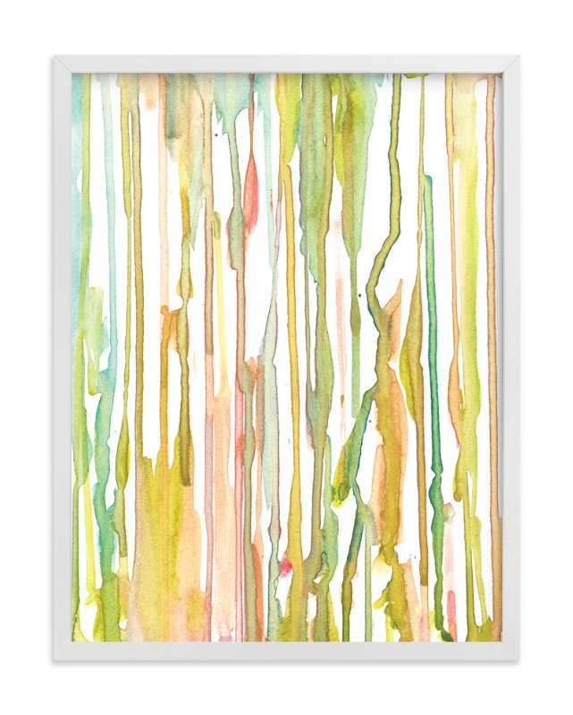 """""""stripes painting"""" - Art Print by aticnomar in beautiful frame options and a variety of sizes."""